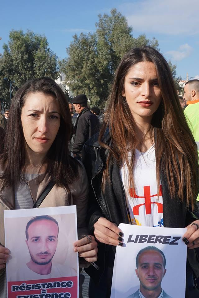 marche des libertés le 10 décembre 2018 à Bejaia pour libérer Merzouk Touati et tous les détenus d'opinion 20200