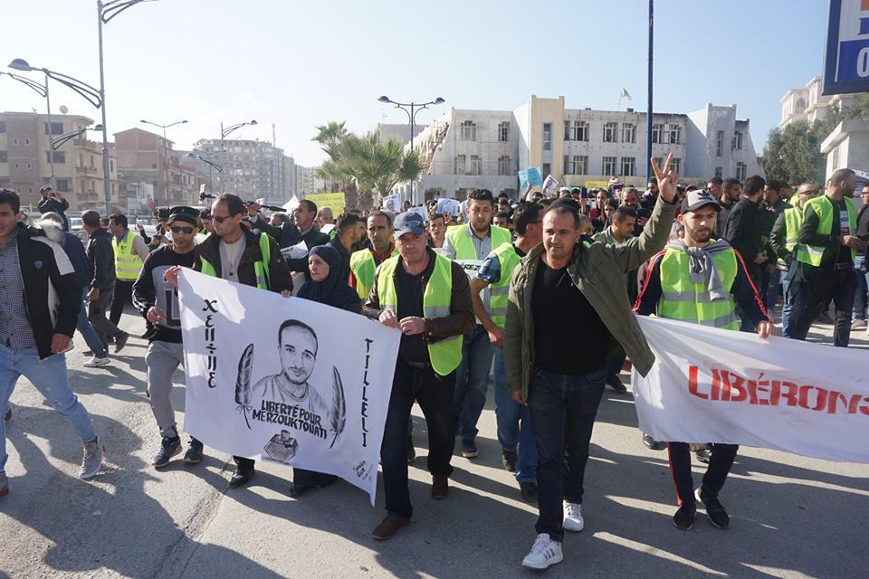 marche des libertés le 10 décembre 2018 à Bejaia pour libérer Merzouk Touati et tous les détenus d'opinion 20202