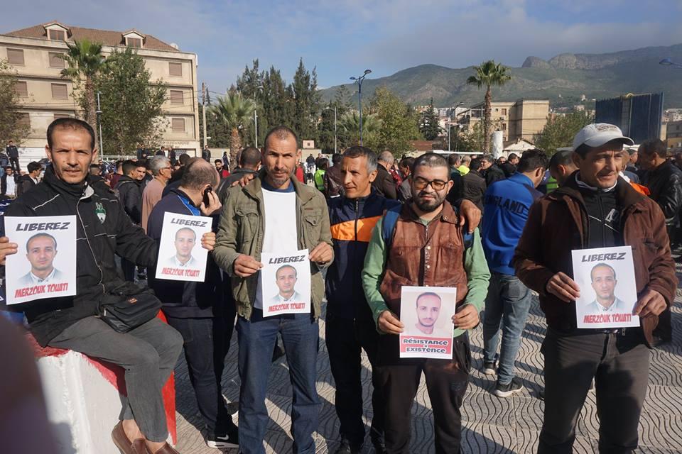 marche des libertés le 10 décembre 2018 à Bejaia pour libérer Merzouk Touati et tous les détenus d'opinion 20205