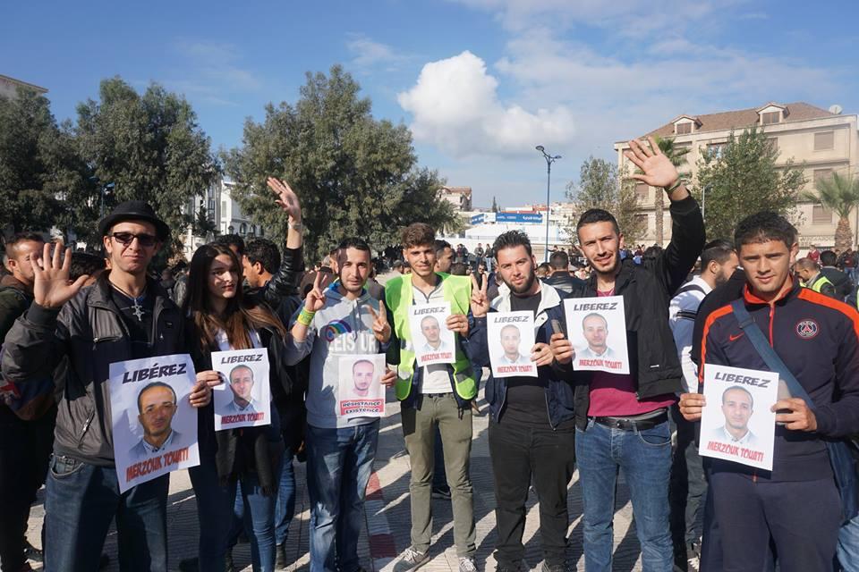marche des libertés le 10 décembre 2018 à Bejaia pour libérer Merzouk Touati et tous les détenus d'opinion 20206