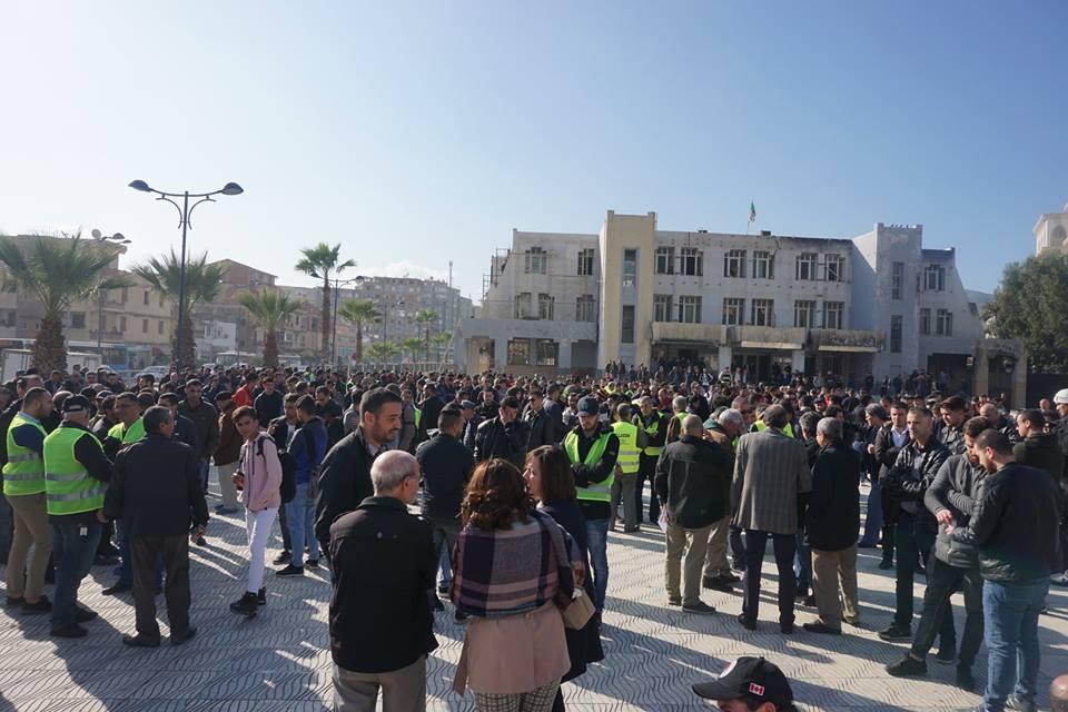 marche des libertés le 10 décembre 2018 à Bejaia pour libérer Merzouk Touati et tous les détenus d'opinion 20207