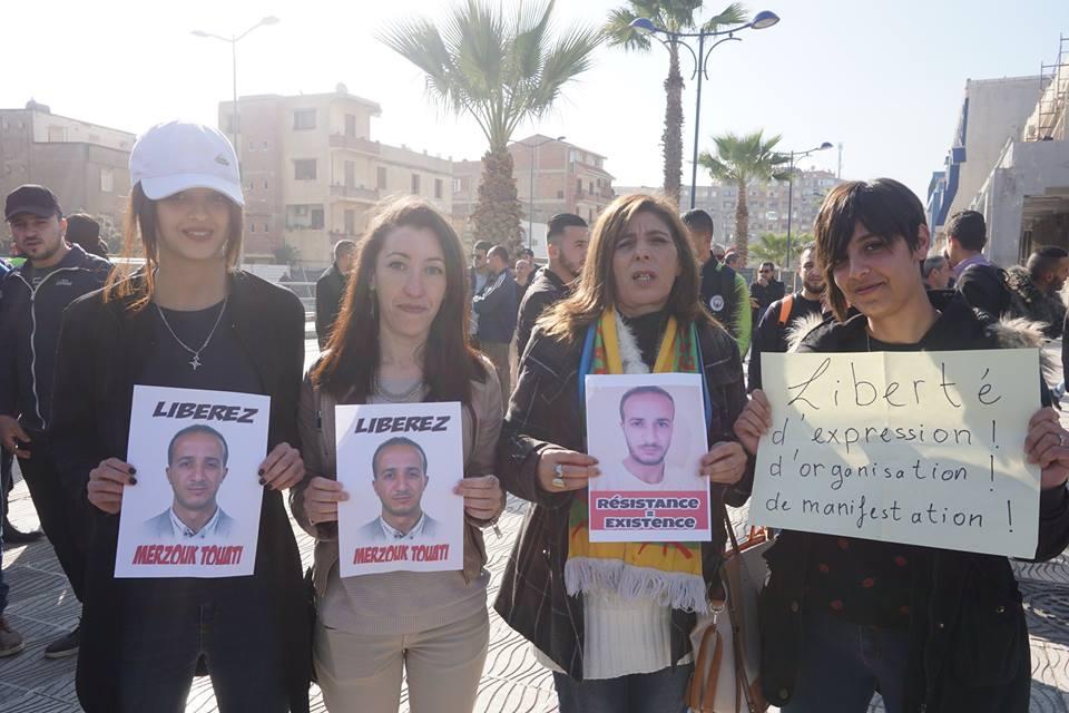 marche des libertés le 10 décembre 2018 à Bejaia pour libérer Merzouk Touati et tous les détenus d'opinion 20208