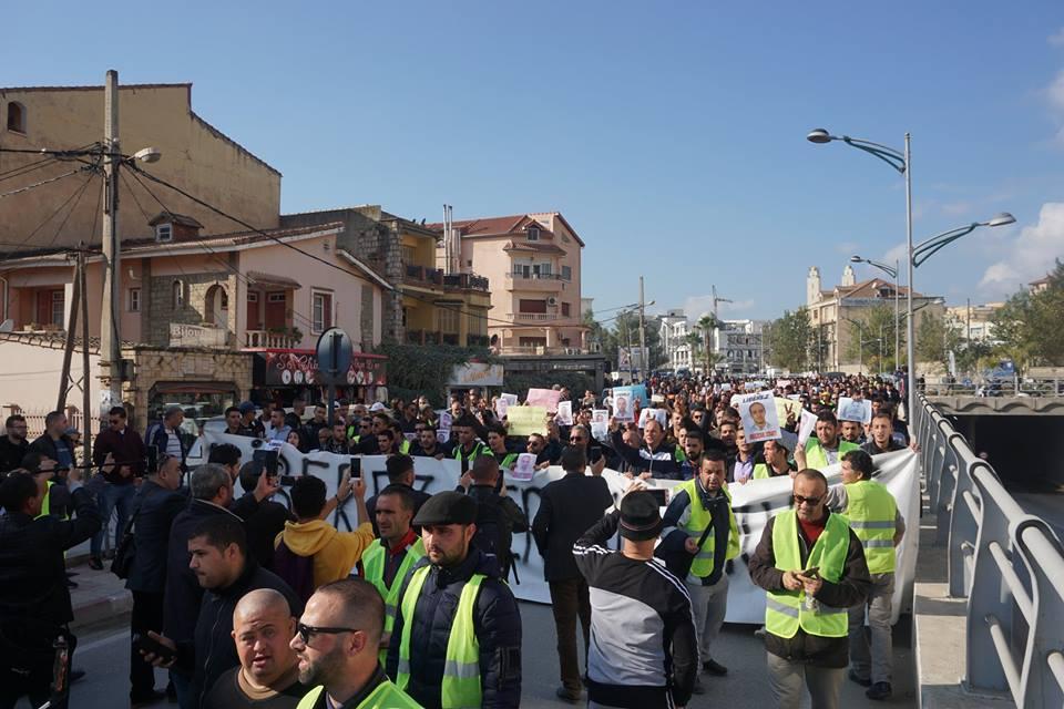 marche des libertés le 10 décembre 2018 à Bejaia pour libérer Merzouk Touati et tous les détenus d'opinion 20209