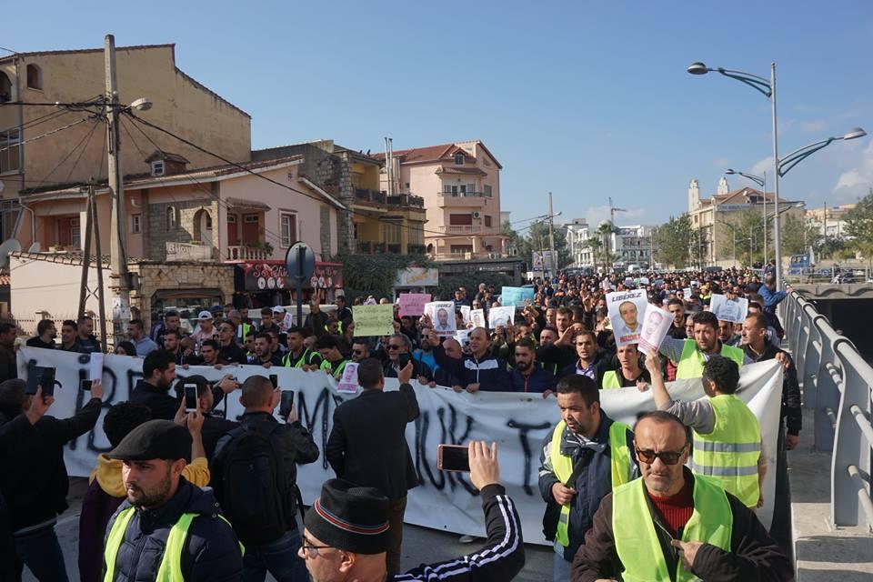 marche des libertés le 10 décembre 2018 à Bejaia pour libérer Merzouk Touati et tous les détenus d'opinion 20210