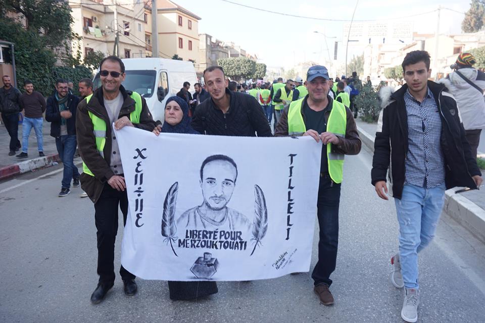 marche des libertés le 10 décembre 2018 à Bejaia pour libérer Merzouk Touati et tous les détenus d'opinion 20211