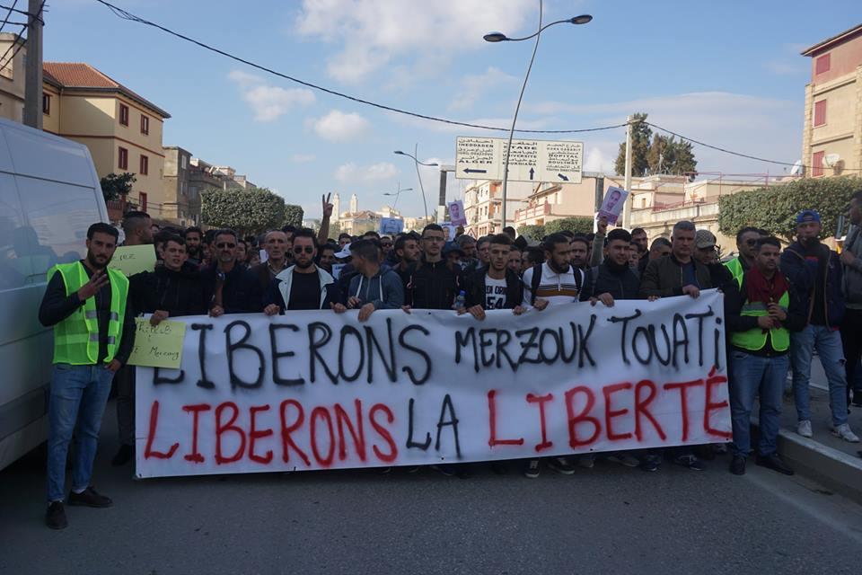 marche des libertés le 10 décembre 2018 à Bejaia pour libérer Merzouk Touati et tous les détenus d'opinion 20212