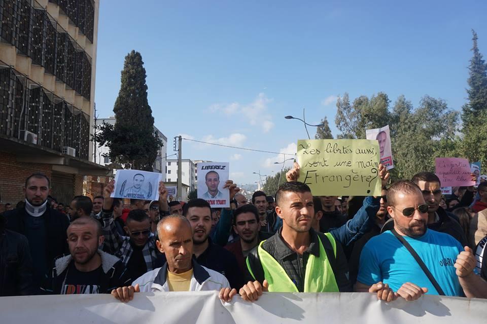 marche des libertés le 10 décembre 2018 à Bejaia pour libérer Merzouk Touati et tous les détenus d'opinion 20214
