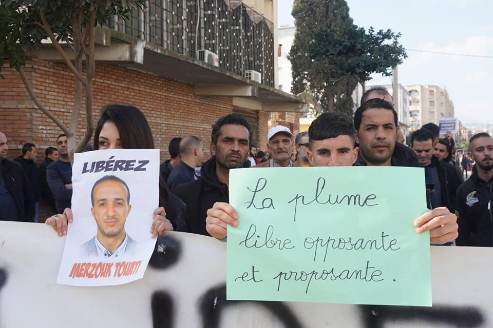 marche des libertés le 10 décembre 2018 à Bejaia pour libérer Merzouk Touati et tous les détenus d'opinion 20215