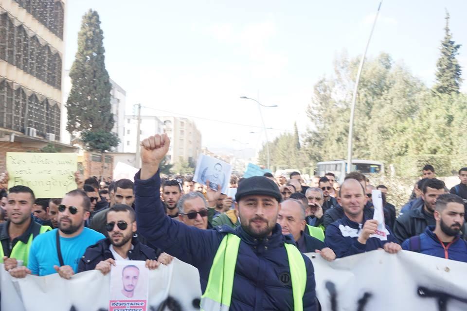marche des libertés le 10 décembre 2018 à Bejaia pour libérer Merzouk Touati et tous les détenus d'opinion 20216