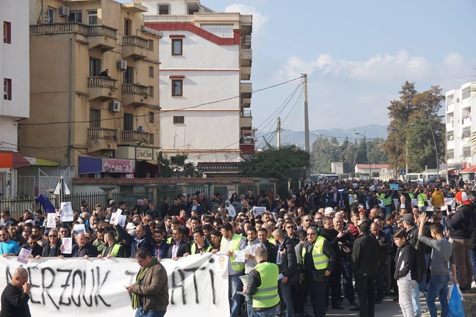 marche des libertés le 10 décembre 2018 à Bejaia pour libérer Merzouk Touati et tous les détenus d'opinion 20219