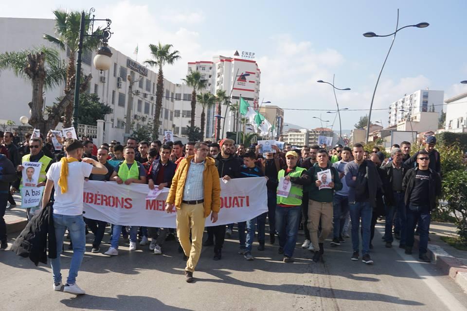 marche des libertés le 10 décembre 2018 à Bejaia pour libérer Merzouk Touati et tous les détenus d'opinion 20221