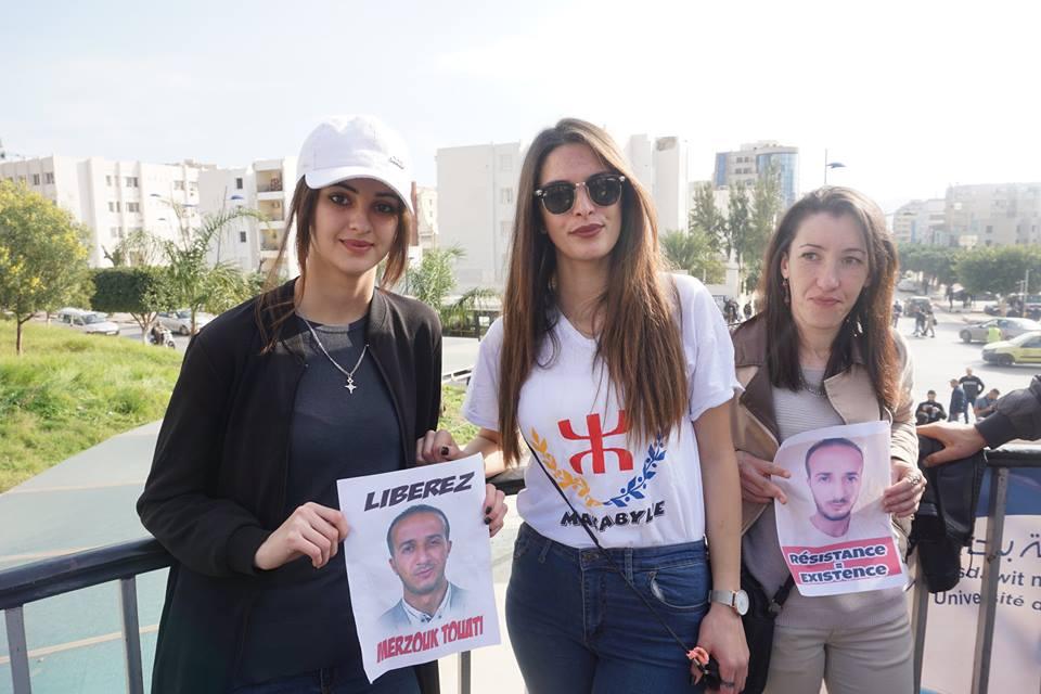 marche des libertés le 10 décembre 2018 à Bejaia pour libérer Merzouk Touati et tous les détenus d'opinion - Page 2 20231