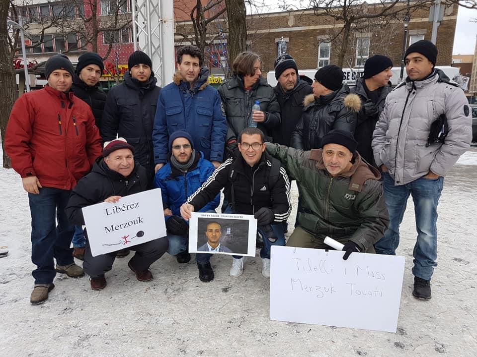 Rassemblement pour la libération de tous les détenus d'opinion à Montréal  le dimanche 09 décembre 2018 20243