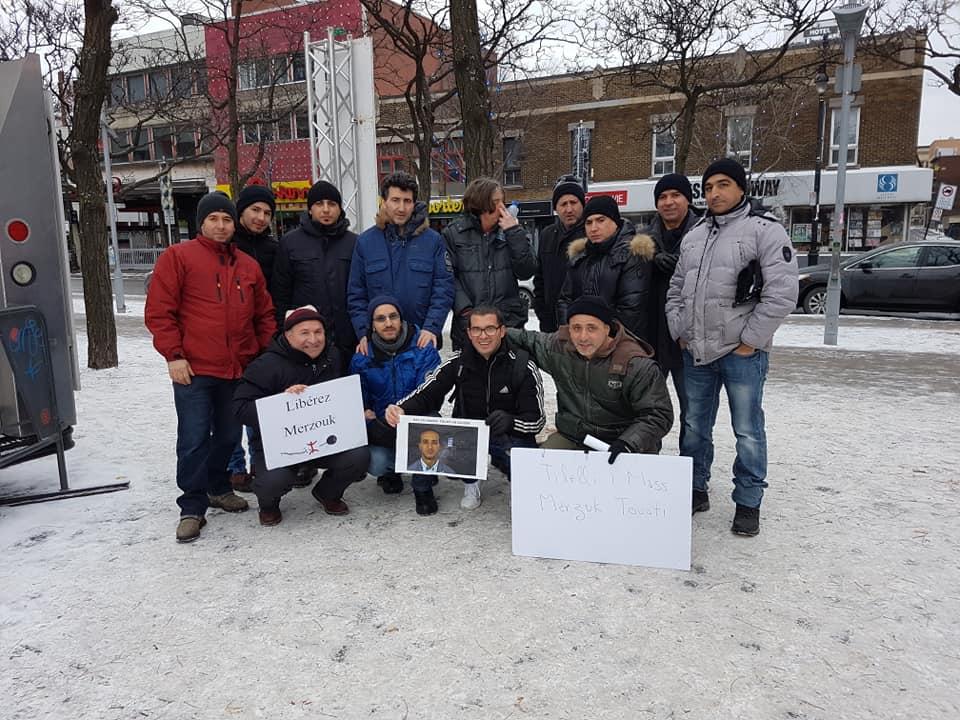 Rassemblement pour la libération de tous les détenus d'opinion à Montréal  le dimanche 09 décembre 2018 20244