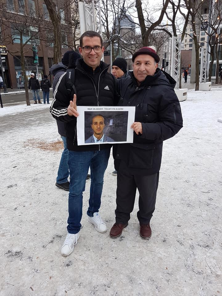 Rassemblement pour la libération de tous les détenus d'opinion à Montréal  le dimanche 09 décembre 2018 20247