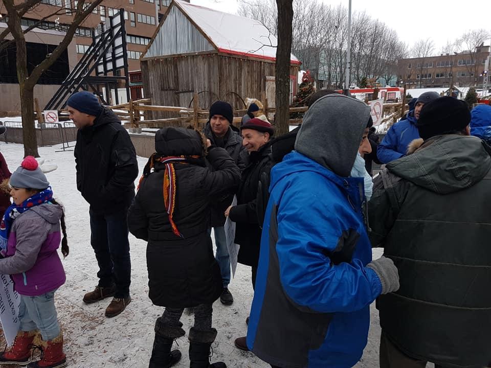 Rassemblement pour la libération de tous les détenus d'opinion à Montréal  le dimanche 09 décembre 2018 20249