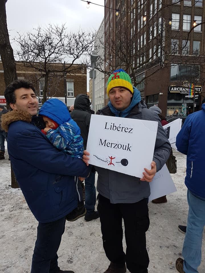 Rassemblement pour la libération de tous les détenus d'opinion à Montréal  le dimanche 09 décembre 2018 20250