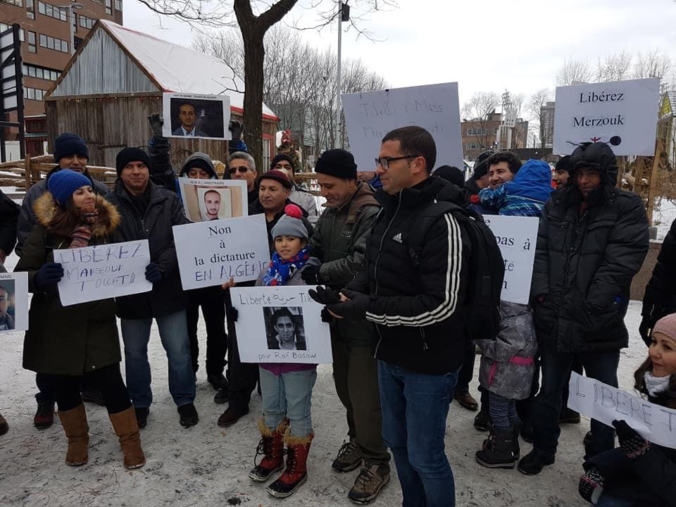 Rassemblement pour la libération de tous les détenus d'opinion à Montréal  le dimanche 09 décembre 2018 20252