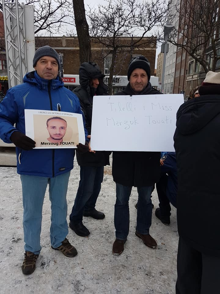Rassemblement pour la libération de tous les détenus d'opinion à Montréal  le dimanche 09 décembre 2018 20255