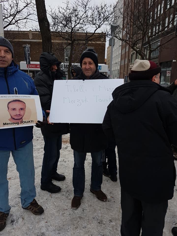 Rassemblement pour la libération de tous les détenus d'opinion à Montréal  le dimanche 09 décembre 2018 20256