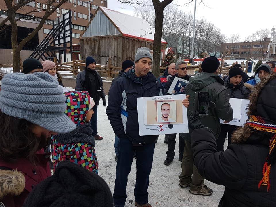 Rassemblement pour la libération de tous les détenus d'opinion à Montréal  le dimanche 09 décembre 2018 20259