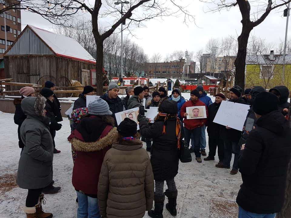 Rassemblement pour la libération de tous les détenus d'opinion à Montréal  le dimanche 09 décembre 2018 20261