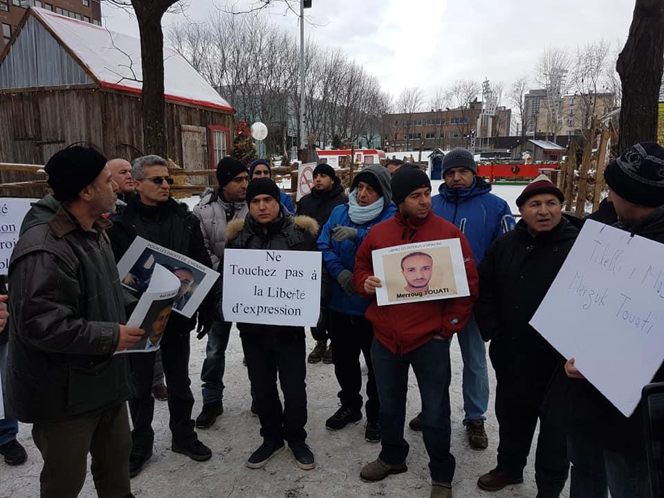 Rassemblement pour la libération de tous les détenus d'opinion à Montréal  le dimanche 09 décembre 2018 20262