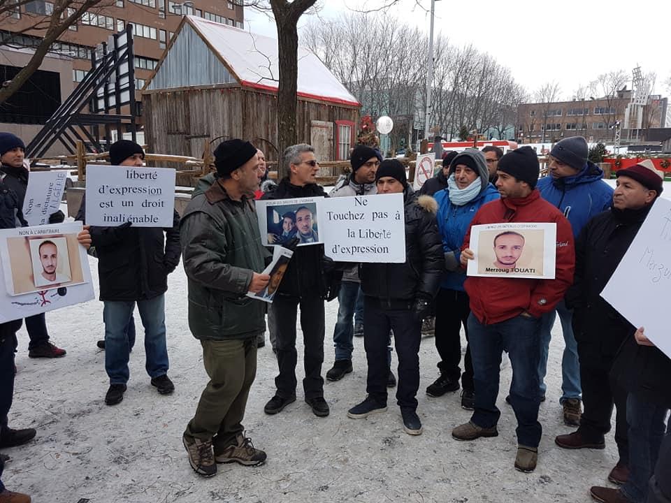 Rassemblement pour la libération de tous les détenus d'opinion à Montréal  le dimanche 09 décembre 2018 - Page 2 20264