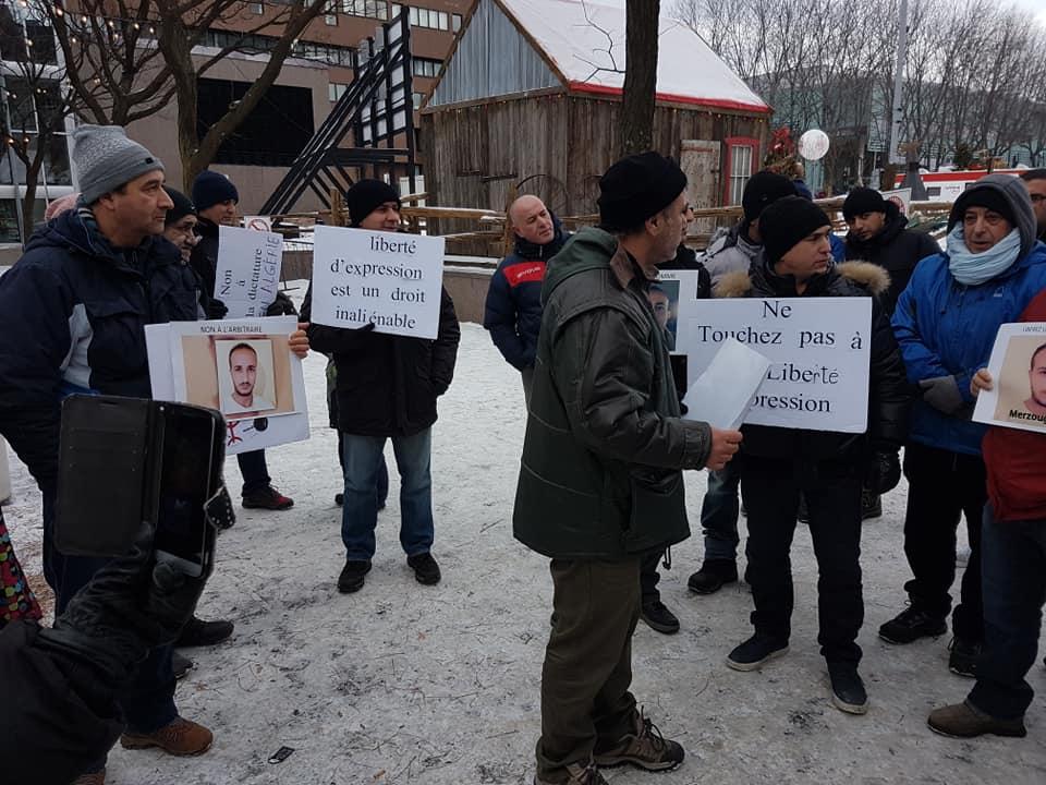 Rassemblement pour la libération de tous les détenus d'opinion à Montréal  le dimanche 09 décembre 2018 - Page 2 20265