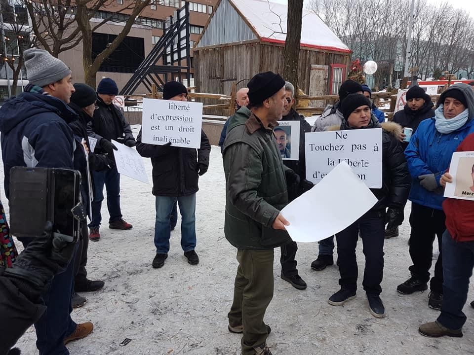 Rassemblement pour la libération de tous les détenus d'opinion à Montréal  le dimanche 09 décembre 2018 - Page 2 20266