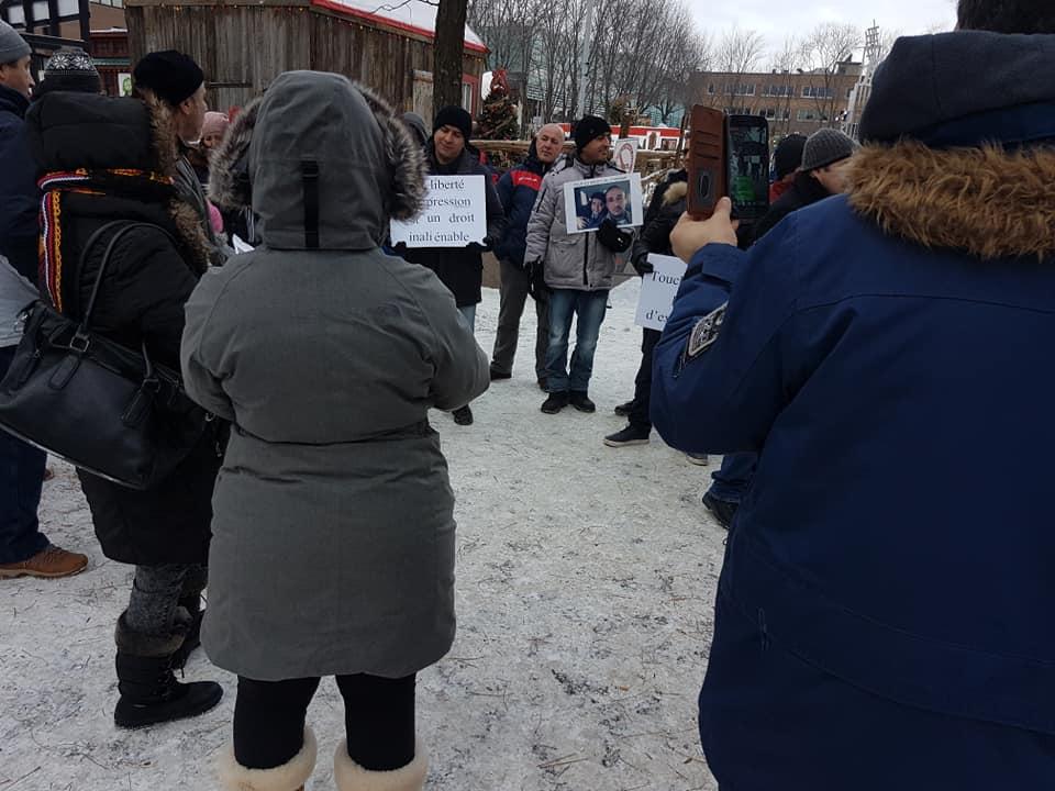 Rassemblement pour la libération de tous les détenus d'opinion à Montréal  le dimanche 09 décembre 2018 - Page 2 20267