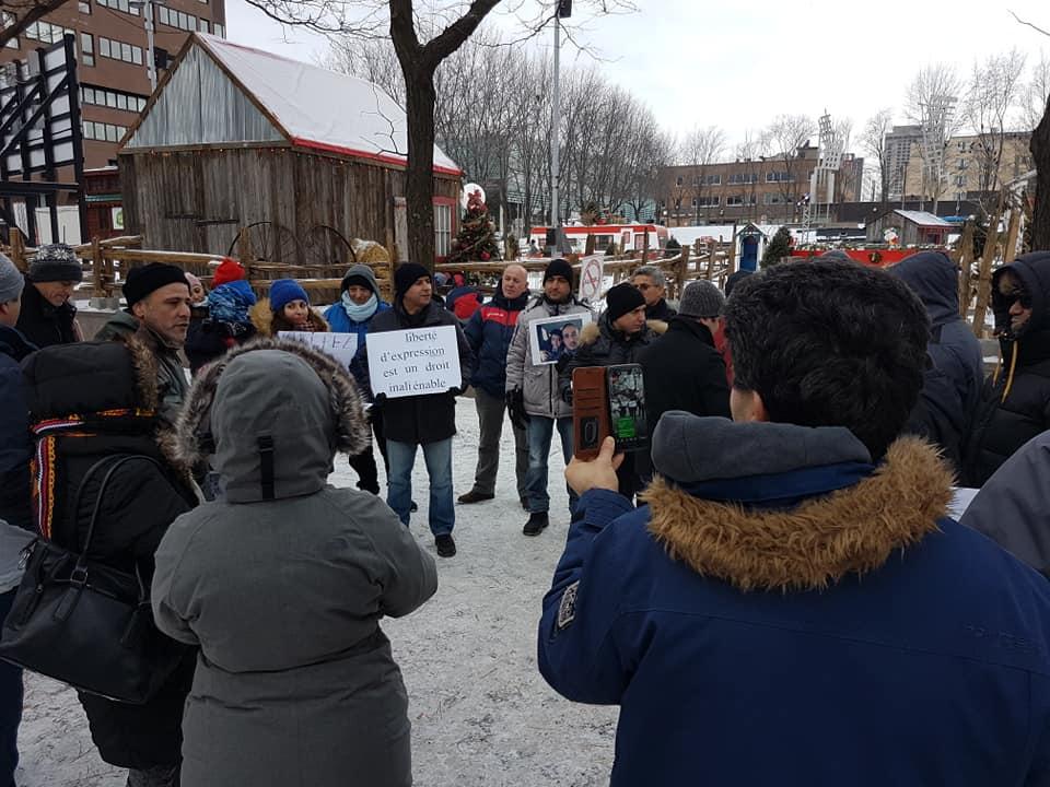 Rassemblement pour la libération de tous les détenus d'opinion à Montréal  le dimanche 09 décembre 2018 - Page 2 20269