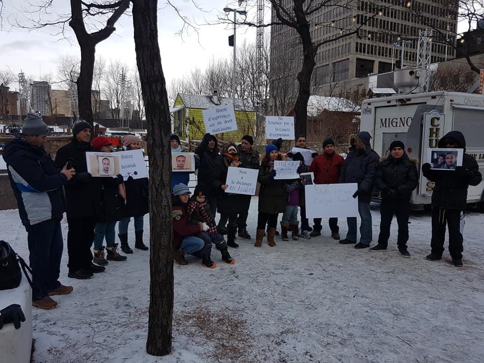 Rassemblement pour la libération de tous les détenus d'opinion à Montréal  le dimanche 09 décembre 2018 - Page 2 20270