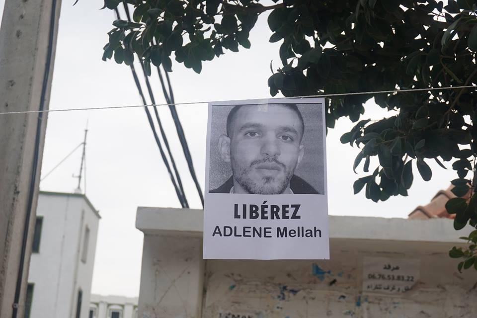 Rassemblement à Aokas pour demander la libération de Adlene Mellah et de tous les détenus d'opinion 20413