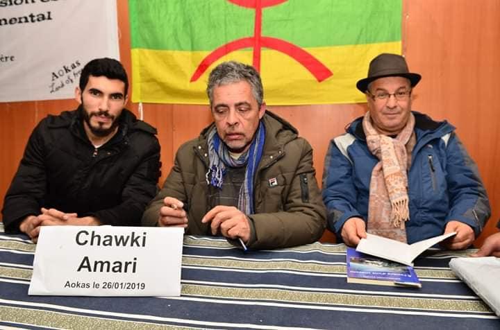 Imposante conférence de Chawki Amari à Aokas le samedi 26 janvier 2019 20465