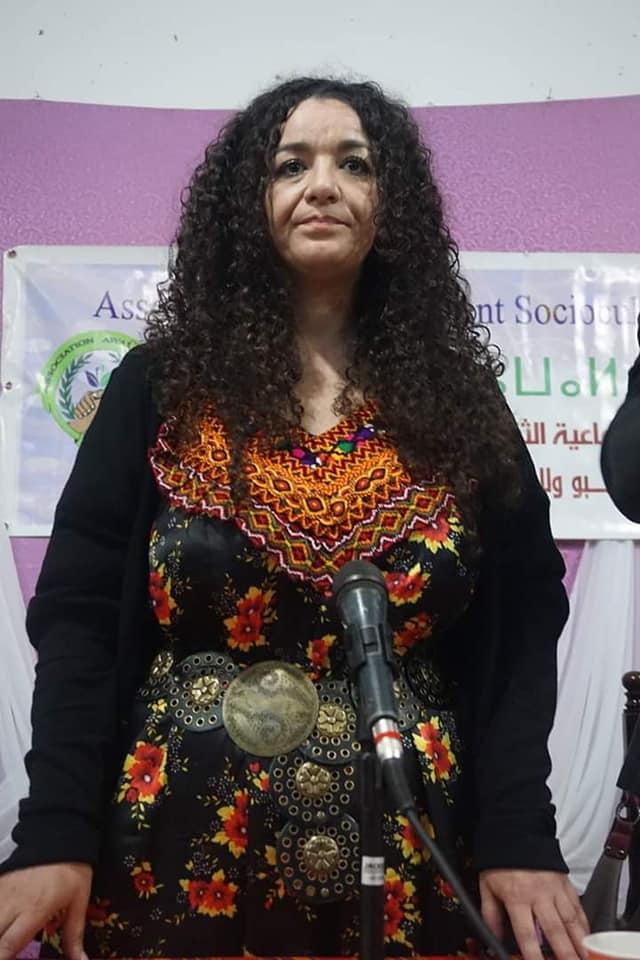 Nadia Matoub à Melbou le samedi 26 janvier 2019 20481