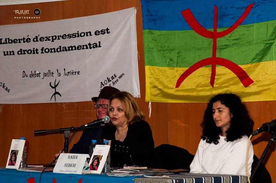 Excellente conférence de Nadia Sebkhi le samedi 02 février 2019 à Aokas 20519