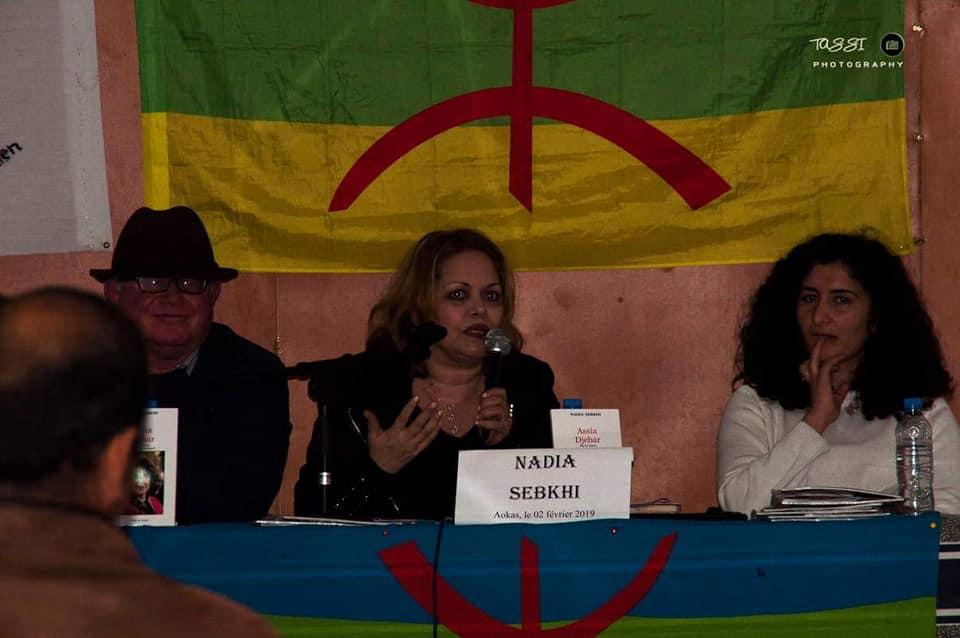 Excellente conférence de Nadia Sebkhi le samedi 02 février 2019 à Aokas 20522