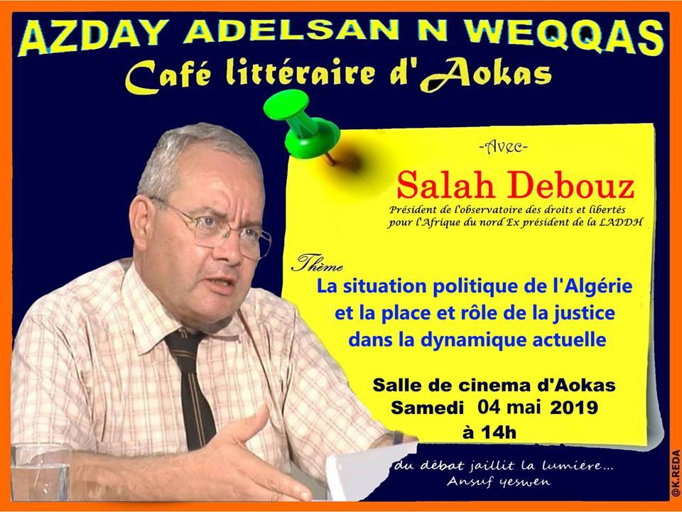 Salah Debouz à Aokas le samedi 04 mai 2019 2142