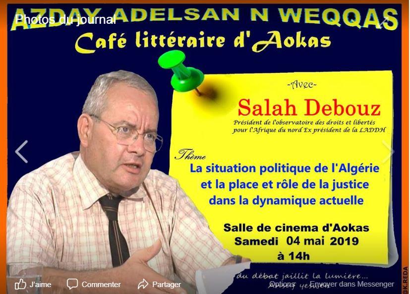 Salah Debouz à Aokas le samedi 04 mai 2019 2143