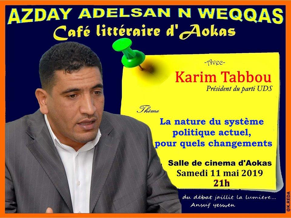 Karim Tabbou à Aokas le samedi le 11 mai 2019 2169