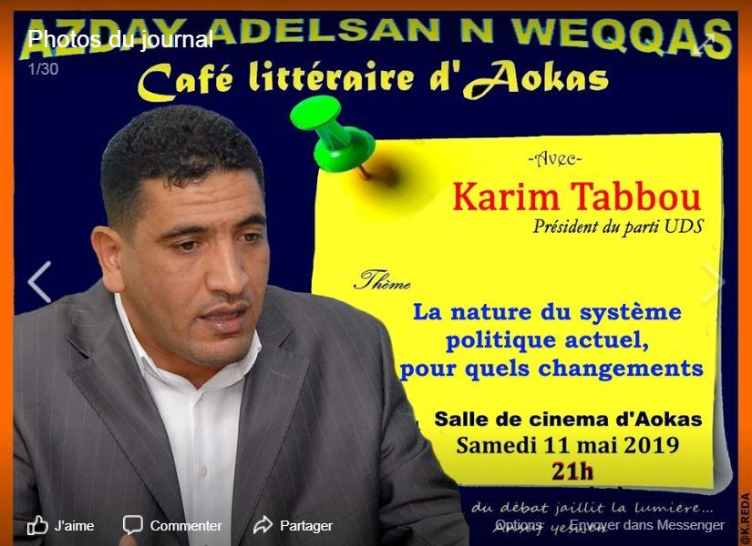 Karim Tabbou à Aokas le samedi le 11 mai 2019 2170