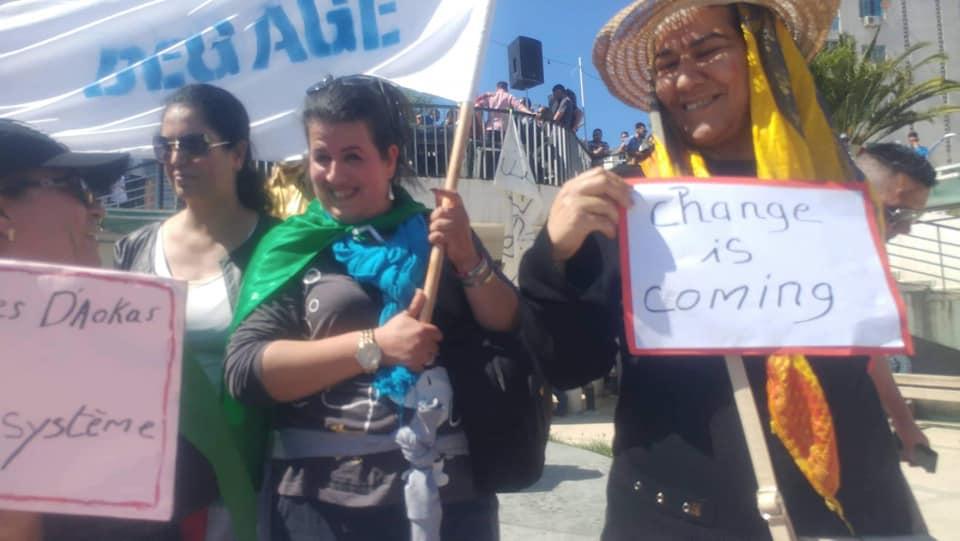 Bejaia, vendredi 10 mai 2019: Les femmes d'Aokas en force 2233