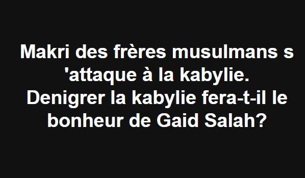 Makri des frères musulmans s 'attaque à la Kabylie 2252