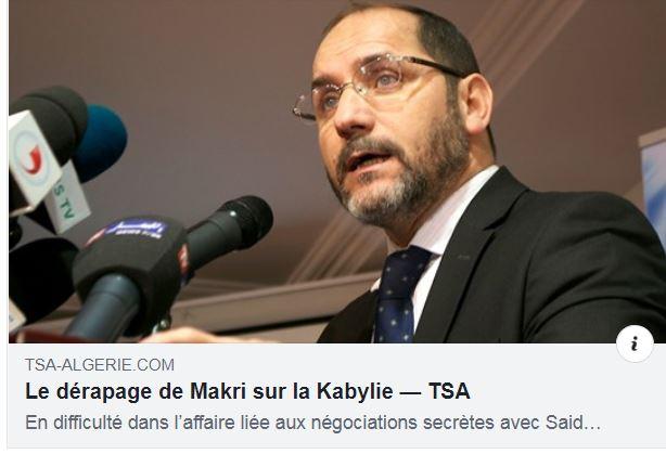 Makri des frères musulmans s 'attaque à la Kabylie 2253