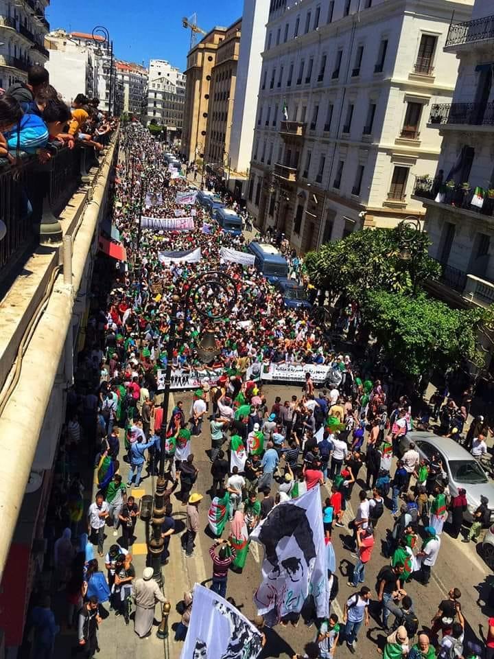 Manifestation des étudiants à Alger. MARDI 14 MAI 2019 2254