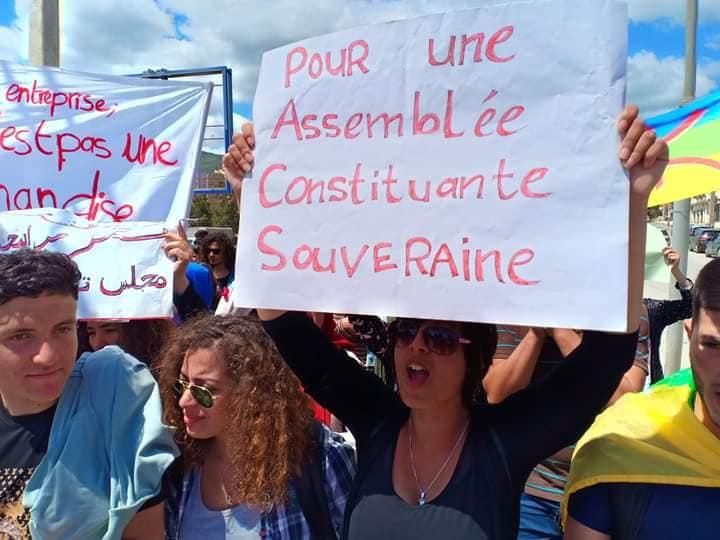 Manifestation des étudiants à Bejaia . MARDI 14 MAI 2019 2256