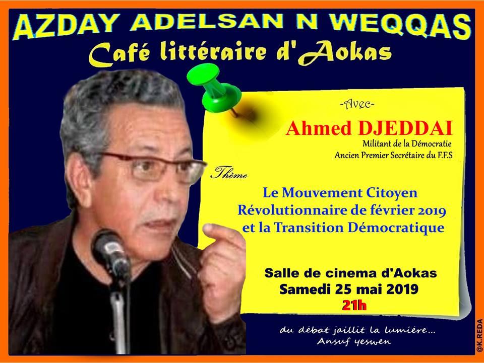 Ahmed DJEDDAI à Aokas le samedi le 25 mai 2019 2293