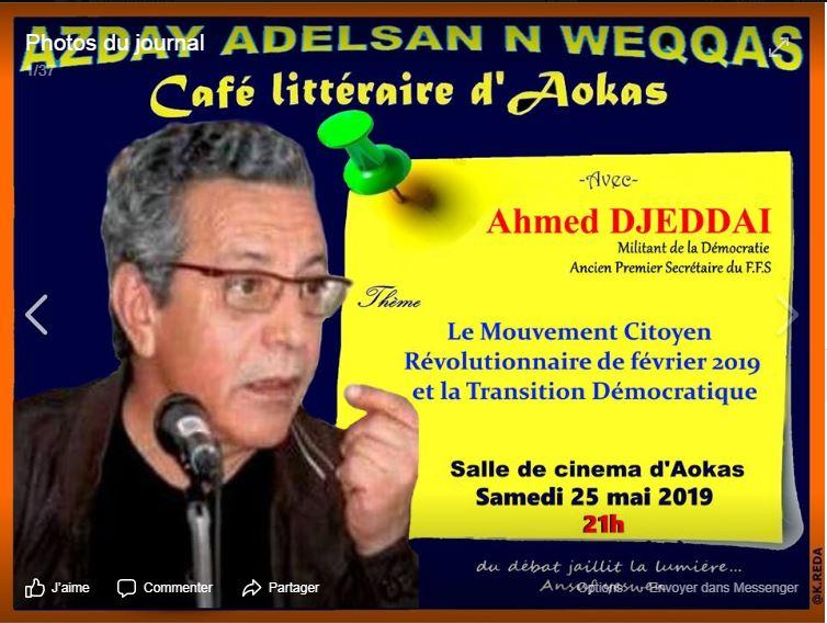 Ahmed DJEDDAI à Aokas le samedi le 25 mai 2019 2294