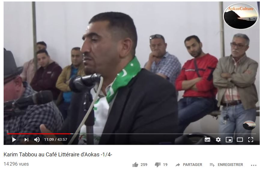Karim Tabbou à Aokas le samedi le 11 mai 2019 - Page 2 2295